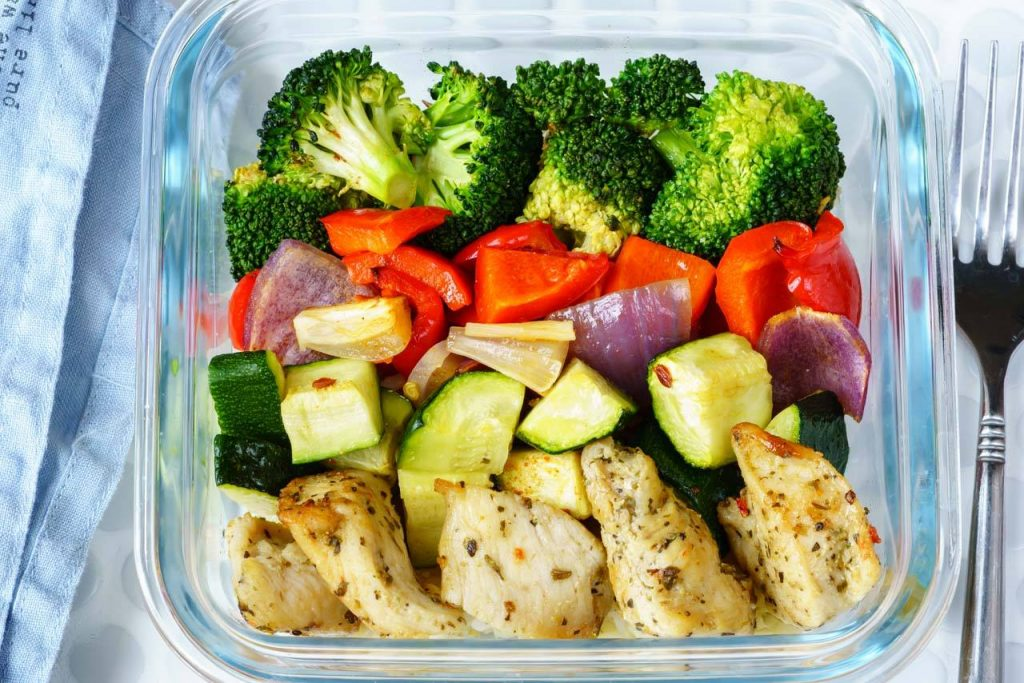 Eat clean meal prep made simple roasted chicken and veggies low carb chicken recipe forumfinder Image collections