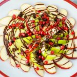 Pomegranate Chocolate Apple Nachos CleanFoodCrush