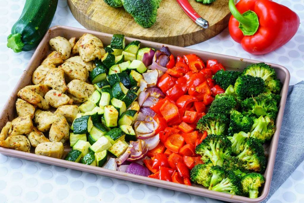 Eat clean meal prep made simple roasted chicken and veggies chicken and veggies recipe forumfinder Choice Image