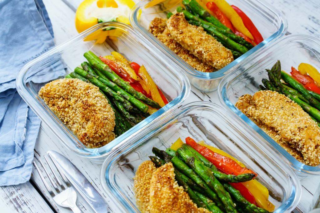Rachel Sesame Chicken Bowls Meal Recipe