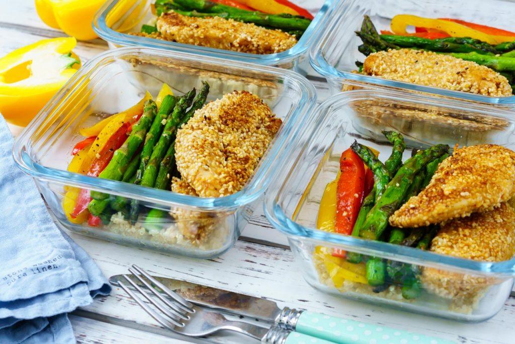 Sesame Chicken Lunch Bowls