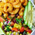 Spicy Shrimp Burrito Bowl Clean Eating