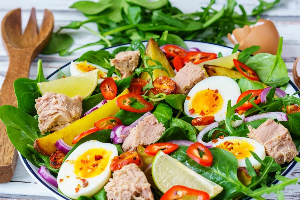 Tuna Nicoise Salad Recipe