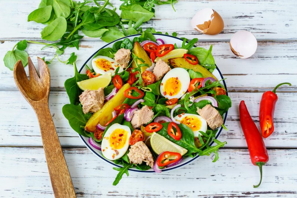 Tuna Nicoise Salad Meal