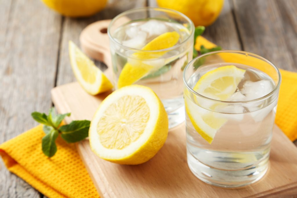 Healthy Lemon Lime Water