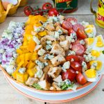 CleanFoodCrush Buffalo Chicken Cobb Salad Recipe