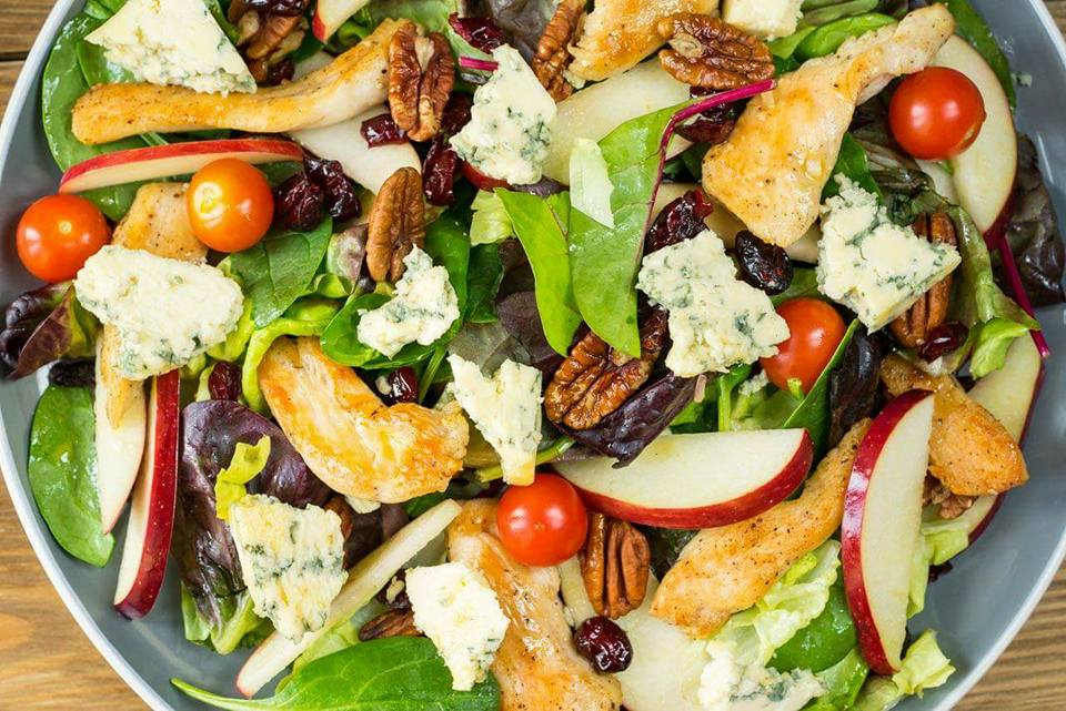 Clean Chicken and Apple Salad Recipe