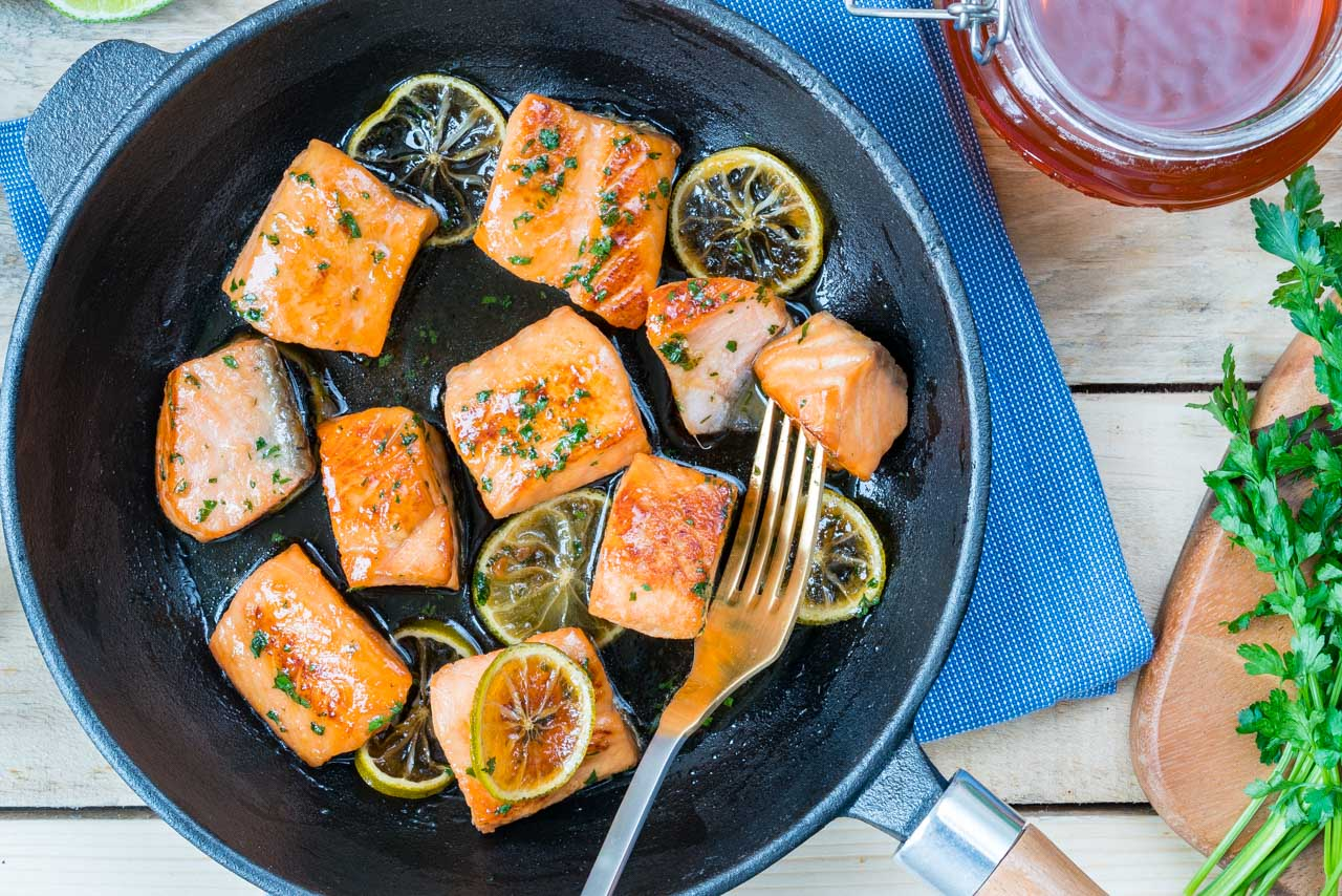 Clean Eating Honey Lime Salmon Recipe