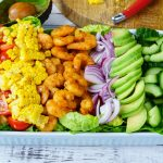 Clean Eating Tangy Shrimp Avocado Salad