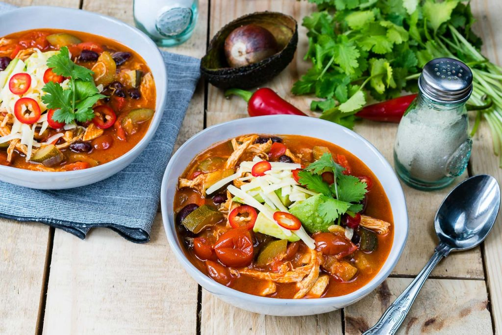 30 Minute Chicken Tortilla Soup Ingredients