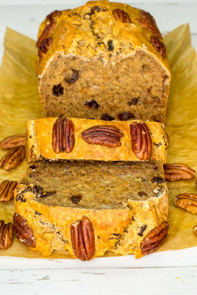 Incredible banana bread with pecans gluten free clean food crush gluten free banana bread real food recipes forumfinder Image collections