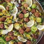 CleanFoodCrush Italian Sausage and Shaved Brussel Sprouts