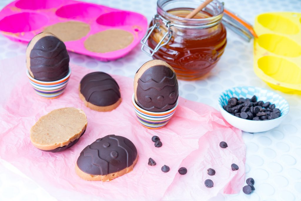 Chocolate Peanut Butter Easter Eggs Dessert