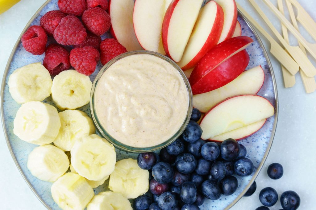 CleanFoodCrush Peanut Butter Fruit Dip