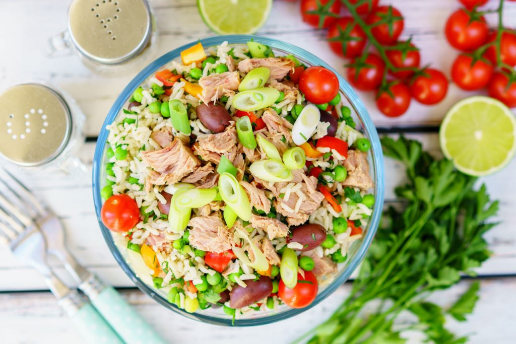 Clean Spring Tuna Salad