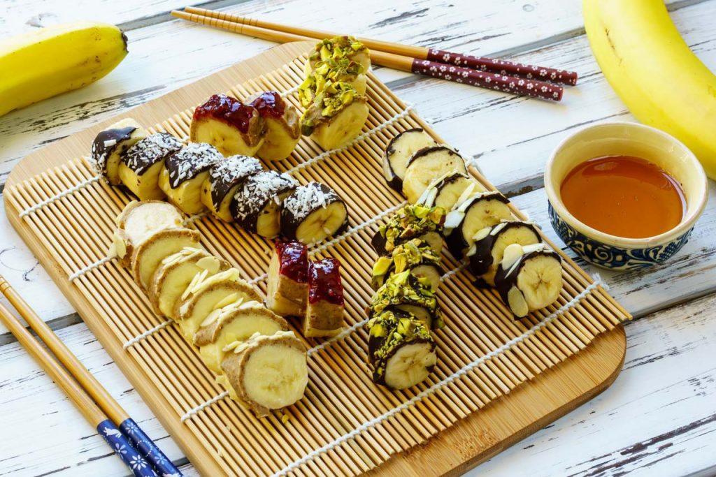 CleanFoodCrush Creative Banana Sushi Party
