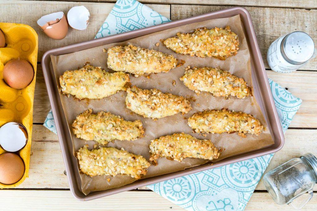 Crispy Chicken Tenders Gluten Free