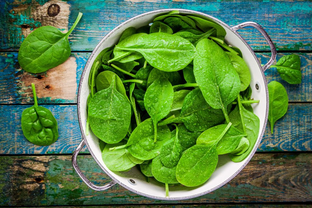 Dark Leafy Greens Inflammation Weight Loss