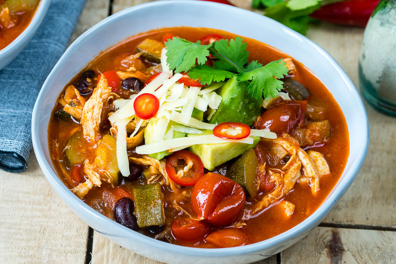 Eat Clean 30-Minute Chicken Tortilla Soup
