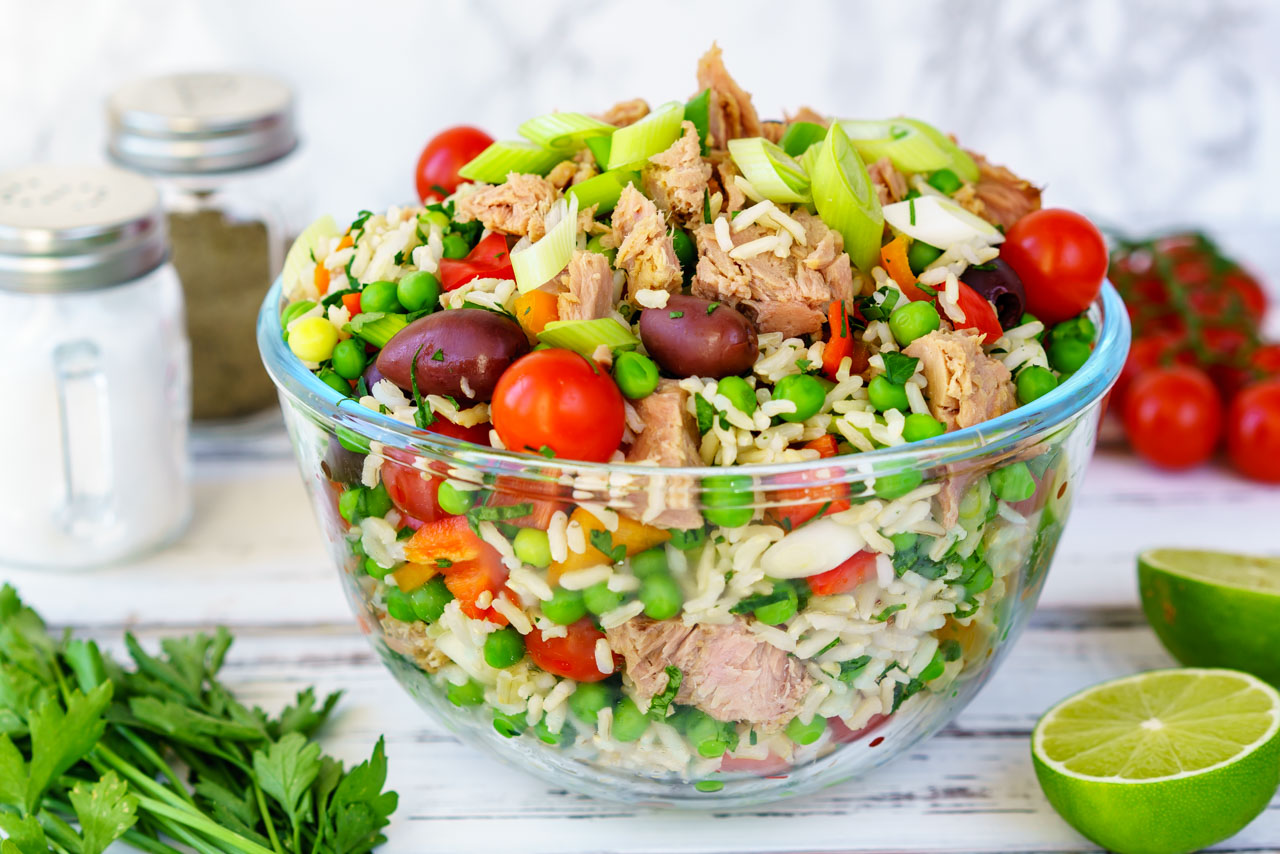Eat Clean Spring Tuna Salad Recipe