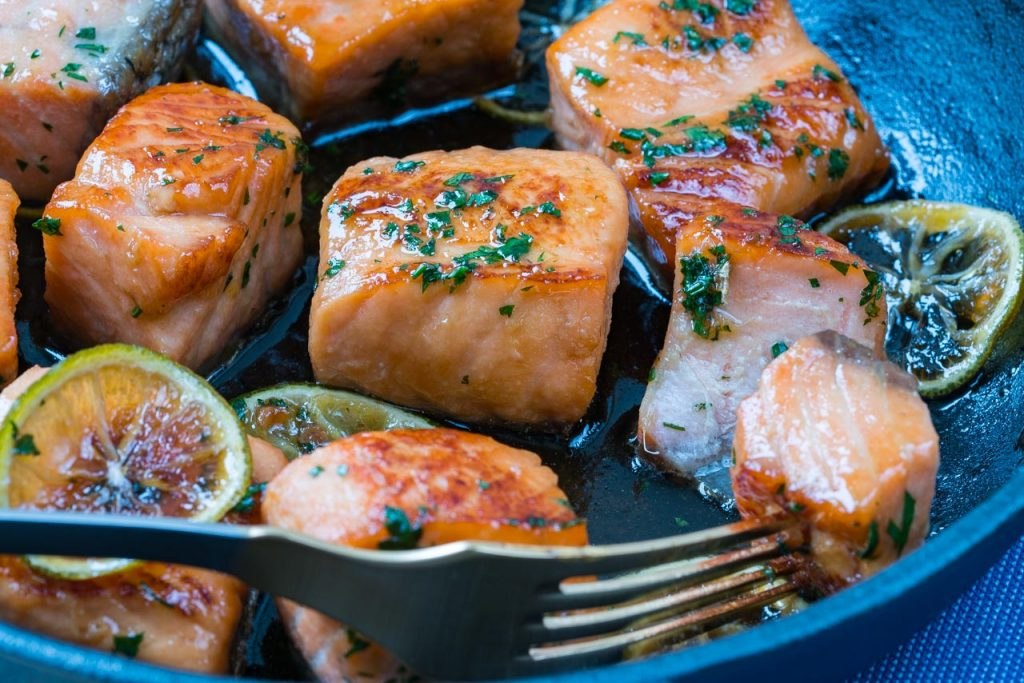 Honey Lime Salmon Clean Eating