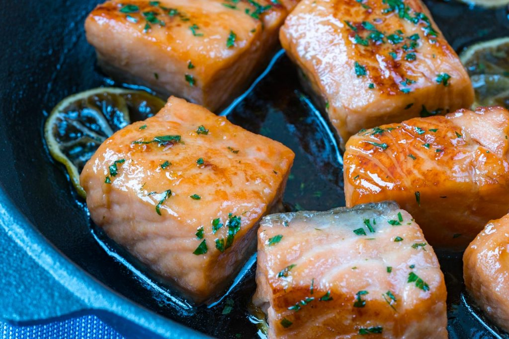 One-Pan Honey Lime Salmon Dinner Recipe
