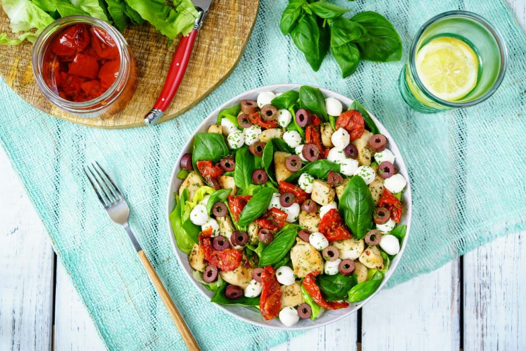 Italian Chicken Salad with Balsamic Dressing Recipe
