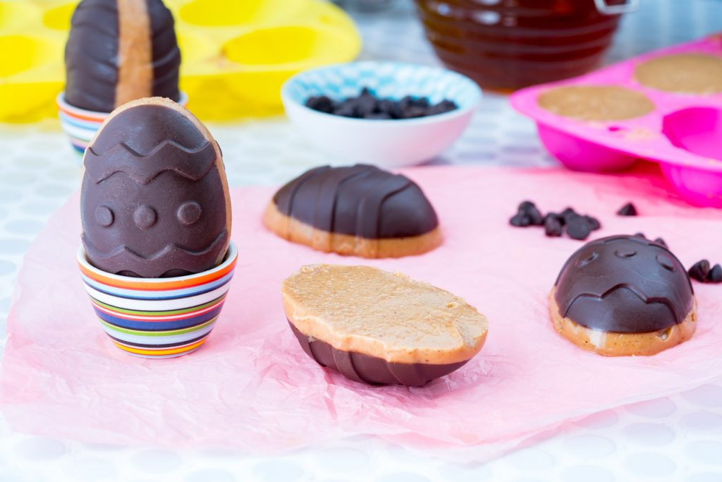 Peanut Butter Chocolate Easter Eggs Recipe