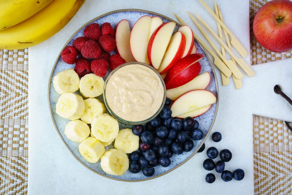 Clean Food Fun Peanut Butter Fruit Dip Recipe