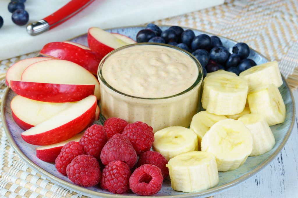 Fresh Peanut Butter Fruit Dip