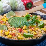 Quick Mexican Turkey Cauliflower Rice