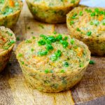 Quinoa + Veggie Egg Frittata Muffins Clean Eating