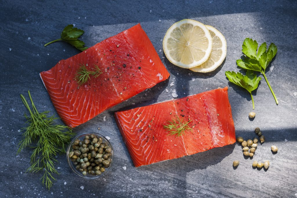Salmon for Inflammation and Weight Loss
