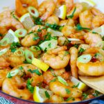 Sticky Honey Garlic Shrimp Clean Eating