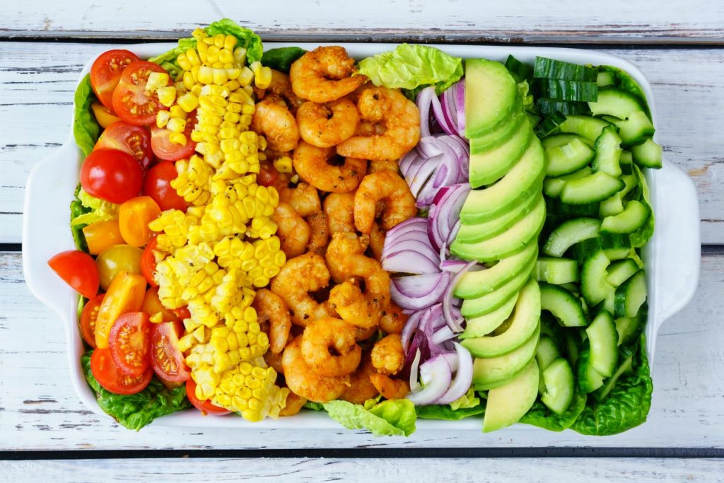 Tangy Shrimp Avocado Salad Recipe
