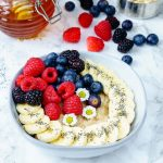 Triple Berry Banana Oatmeal CleanFoodCrush