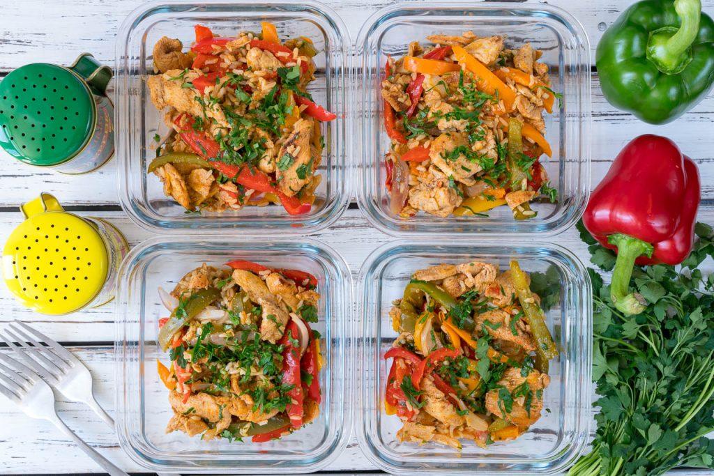15 Minute Skillet Chicken Fajitas Recipe