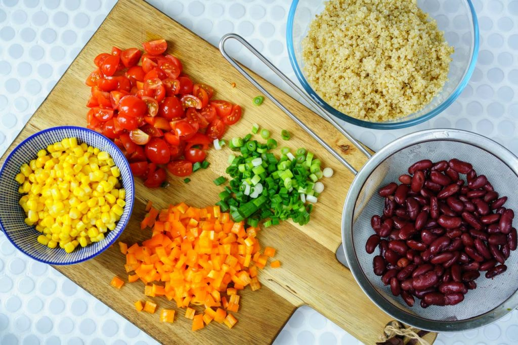 Healthy 15 minutes Southwest Quinoa Salad Recipe