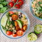 Cilantro Lime Chicken + Cauliflower Rice Recipe CleanFoodCrush