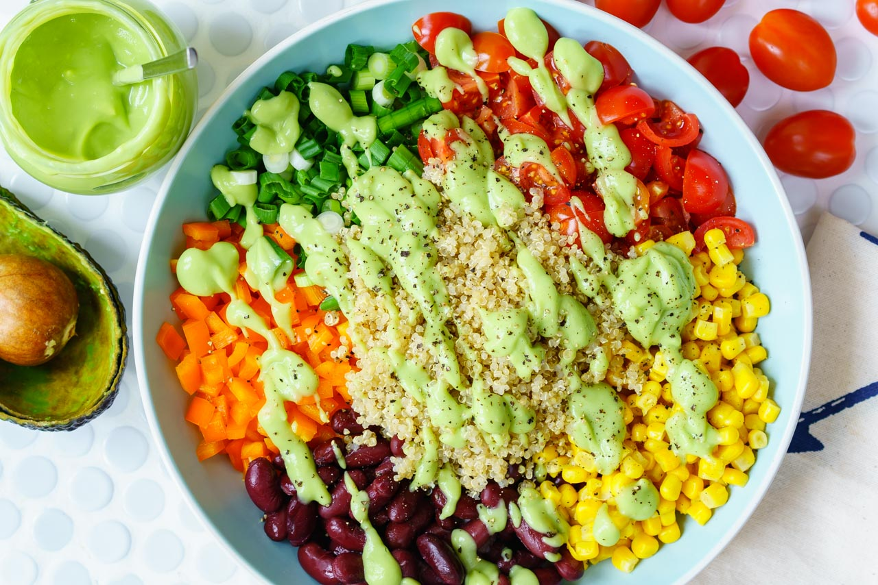 CleanFoodCrush 15 Minute Southwest Quinoa Salad