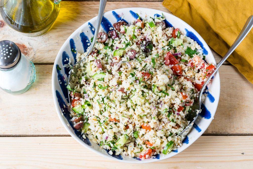 CleanFoodCrush Cauliflower Rice Tabbouleh