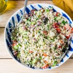 CleanFoodCrush Cauliflower Rice Tabbouleh