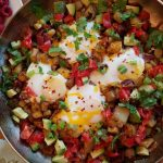 CleanFoodCrush Fiesta Egg Potato Breakfast Skillet