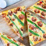 Eat Clean Asparagus + Tomato Frittata