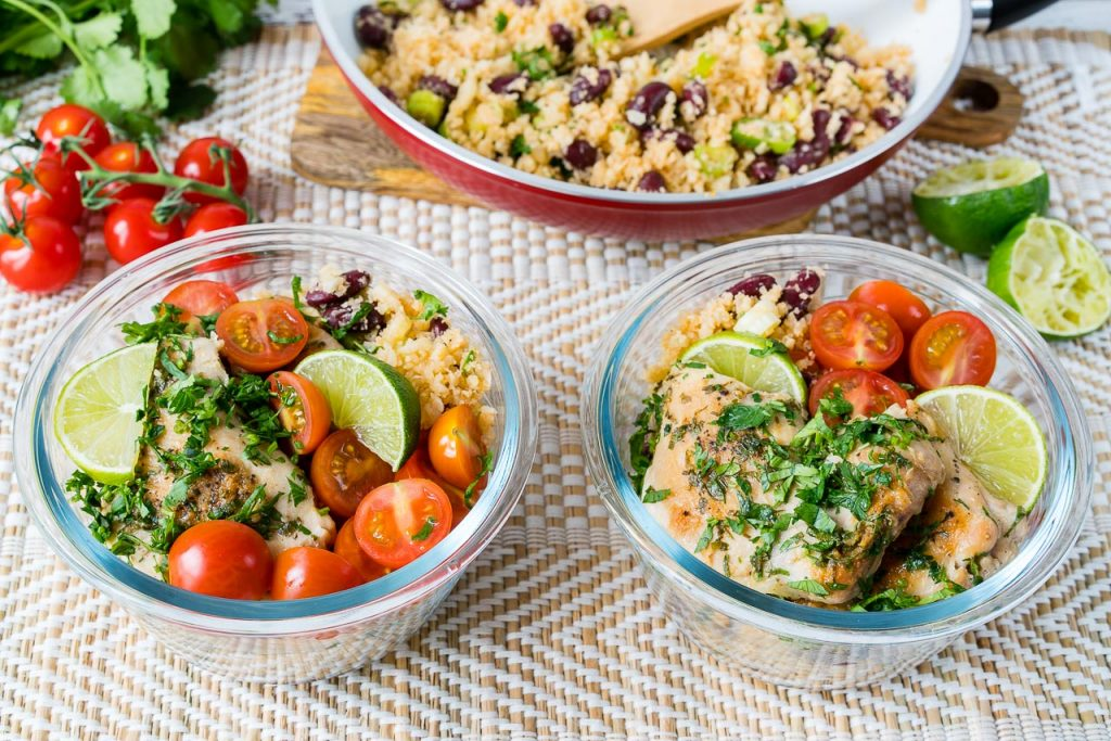 Eat Clean Cilantro Lime Chicken Cauliflower Rice