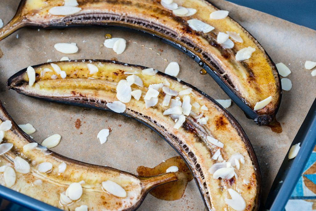 Baked Honey Banana Clean Food Recipe