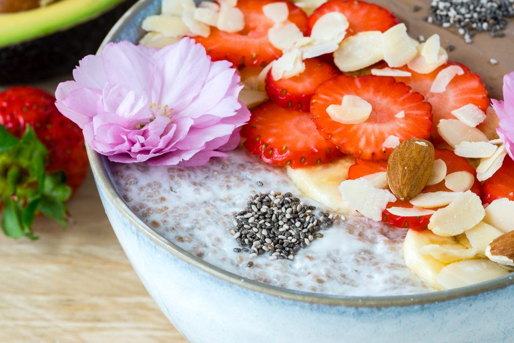 Magnesium Mood Boosting Chia Breakfast Bowl