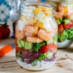 Shrimp + Cobb Jar Salad Recipe
