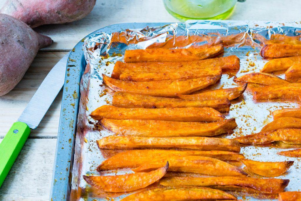 print the best sweet potato fries ingredients 2 lbs sweet