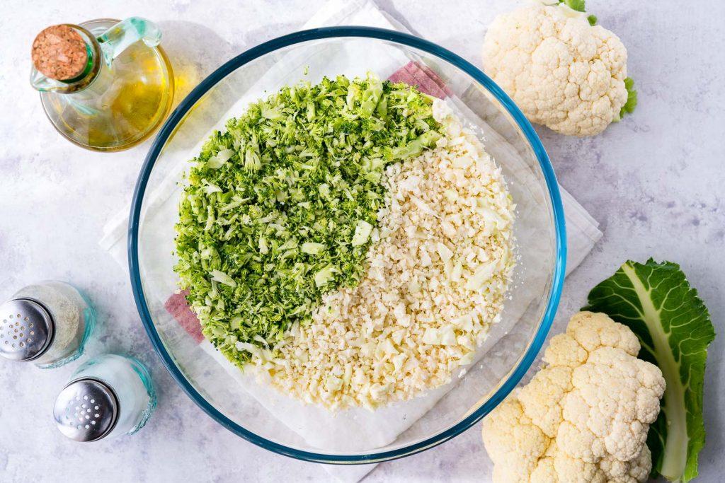 Broccoli Cauliflower Frittata Ingredients